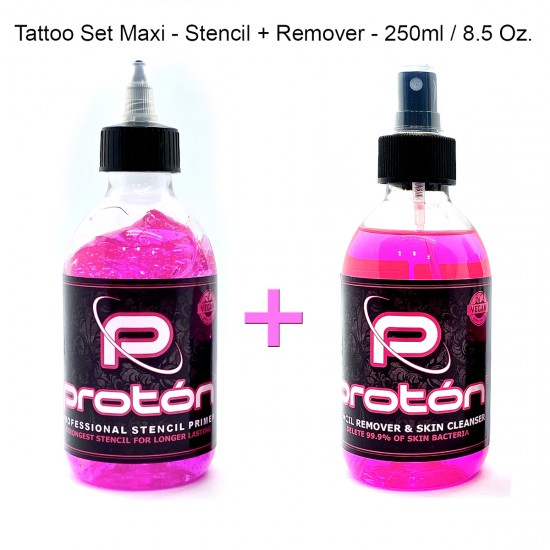 Tattoo Set Maxi Rose -...