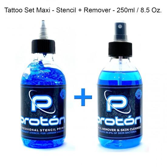 Tattoo Set Maxi - Stencil +...